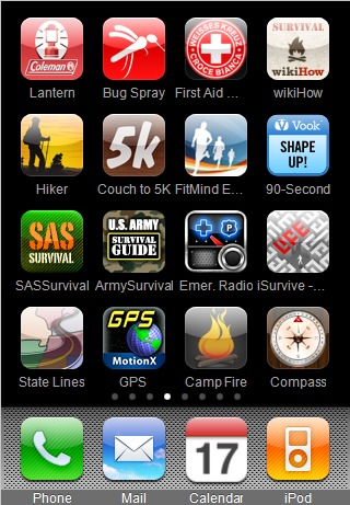 My Survival and Outdoor iPhone Apps