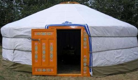 Here ... & Build a Portable Yurt for a Shelter at Your Bug Out Location ...