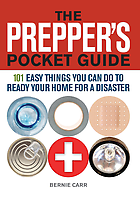 """Review of """"The Prepper's Pocket Guide, 101 Easy Things You Can Do To Ready Your Home For A Disaster."""""""