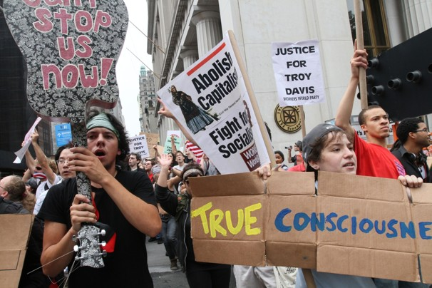 Saddened, Stupidity, and Concerned.  The Occupy Wall Street Protest(s)