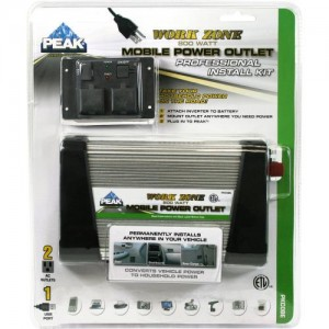 peak inverter 300x300 Review of the Peak 1,200W Mobile Power Outlet/Inverter for My Bug Out Vehicle