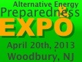 off grid expo New Jersey Preparedness and Alternative Energy Show   April 20th, in Woodbury, NJ