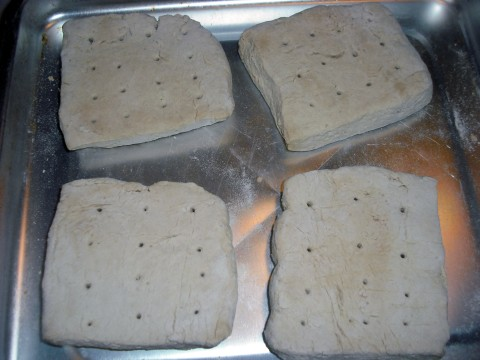 My first attempt at Hard Tack Survival Bread